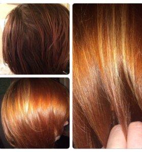 Ламинирование волос выезд на дом