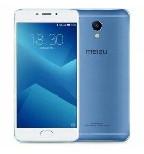 Продам новый Meizu m5 note бело-голубой.Гарантия.