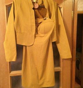 Новое платье с пиджаком 46-48 р