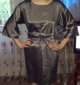 Платье 👗 атласное НОВОЕ