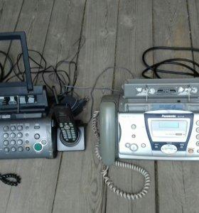 Телефон с факсом Panasonic