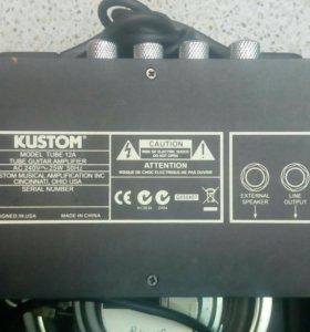 Комбиусилитель Custom tube 12a