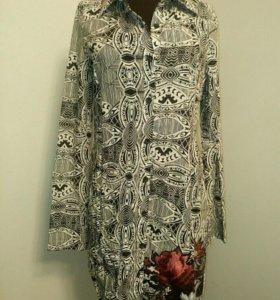 Платье-рубашка 44-46