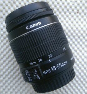 Объектив Canon EF-S 18-55 mm F/3.5-5.6 IS STM KIT