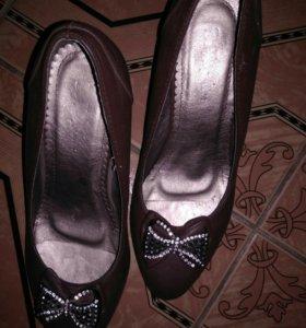 Туфли 37, 38 кожа