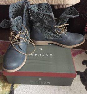 Ботинки фирмы Карнаби , новые !!!!!