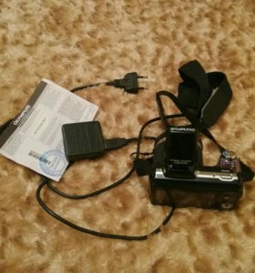 Фотоаппарат olympus 36кр зум,сейчас за 6000