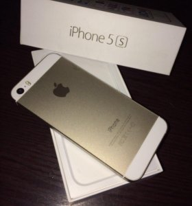 iPhone 5s Gold, 16Гб