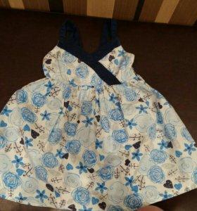 Платье размер 86-92