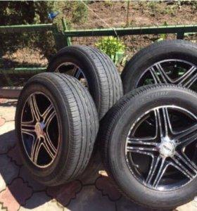 Диски и РЕЗИНА Bridgestone R 15