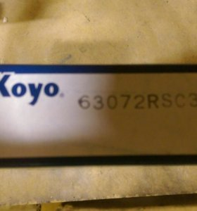 Koyo 63072RSC3 подшипник
