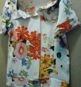 Рубашка размер указан 116
