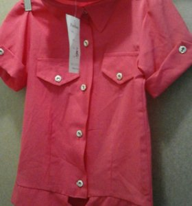 Рубашка размер указан 122