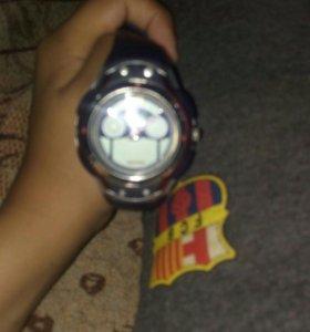 Водонепраницаемые часы с компасом и датчиком слиже