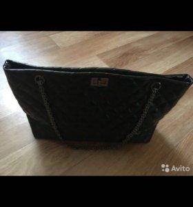 Кожаная сумочка. Новая
