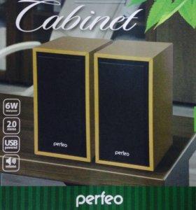 Новая акустика 2.0 Perfeo Cabinet 01