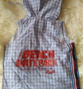 Детская Рубашка без рукавов D&G.Лето. Италия.