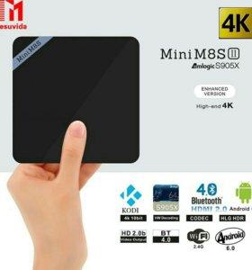 Мини M8S II Smart Box TV