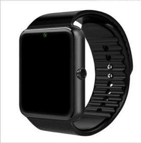Умные часы GT08 smart watch черные