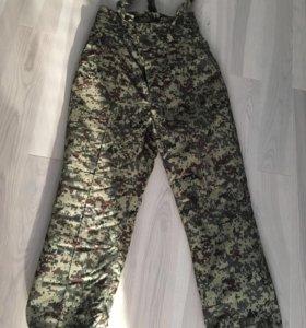 Новые!Тёплые зимние военные штаны