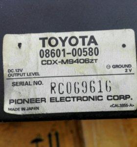 Cd ченджер Toyota, Pioneer cdx-m9406zt