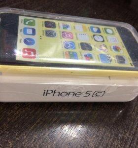 IPhone 5с 16Gb новый запечатан