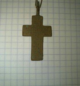 Крест старинный нательный