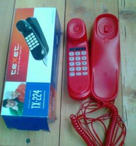 Телефон стационарный тексет tx224
