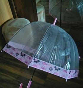 Зонт( форма купол)