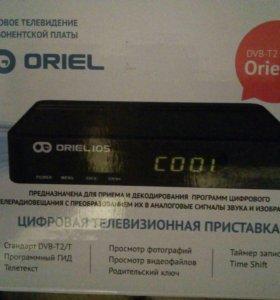Цифровое телевидение без абонентской пла ORIEL 105