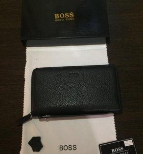 Новый фирменный клатч - портмоне Hugo Boss