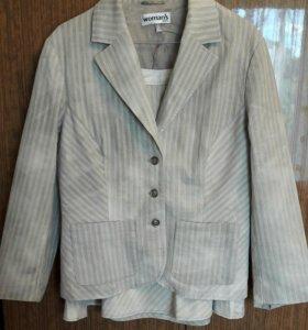 Костюм женский, пиджак + юбка