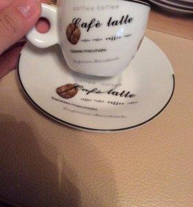 Набор кофейных чашек .