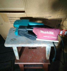 Ленточная шлифовальная машинка Макита