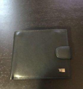 Мужской кошелёк. Натуральная кожа