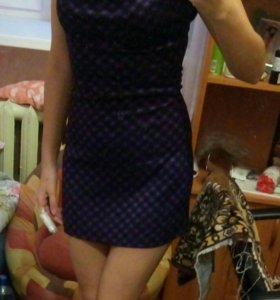 Платье, короткое