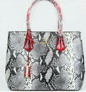 (Италия) RICHEZZA 09577GREY сумка женская