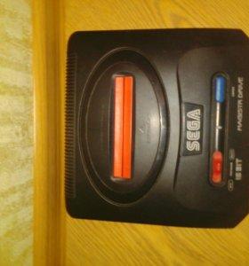 Sega magistr drive,16 bit(оригинальная)