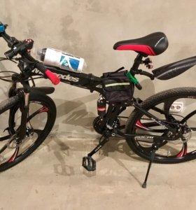Скоростной велосипед Mercedes на литых дисках