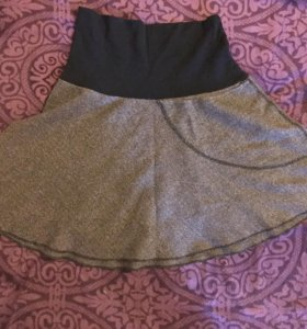 Драповая юбка