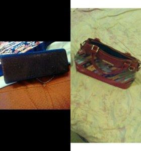 Клатч новый сумка