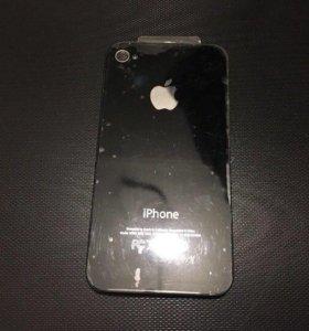 Задняя панель на iPhone 4s