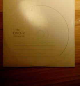 Диски DVD-R 1-16x 120 min\ 4.7 GB
