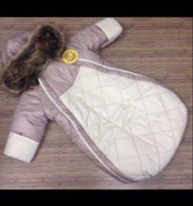 Конверт комбинезон для новорожденного