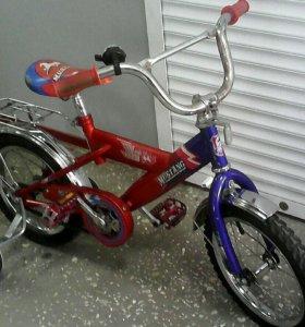 Велосипед 3-5 лет детский 4-х колесный