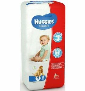 Подгузники детские HUGGIES CLASSIC 5