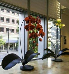 Большие цветы для оформления праздников