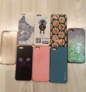 Чехлы iPhone 5s.