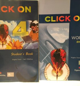 Учебник по английскому языку CLICK ON 4