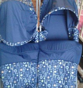 Санки-коляска для погодок или для двойни